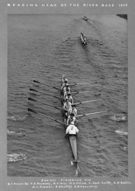 2nd VIII finishing fourth
