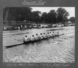 Henley 1924 - Thames Cup, Trinity Hall beating TRC in first heat