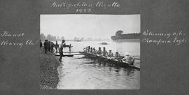 Metropolitan 1923 - Thames returning after Champion eights