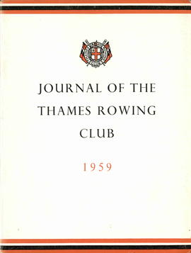 Journal of the Thames Rowing Club 1959