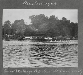 Marlow 1922 - Grand Challenge Cup final, TRC win easily