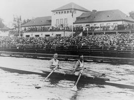 Beresford and Southwood after the Olympic final