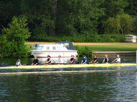 Remenham Cup VIII training