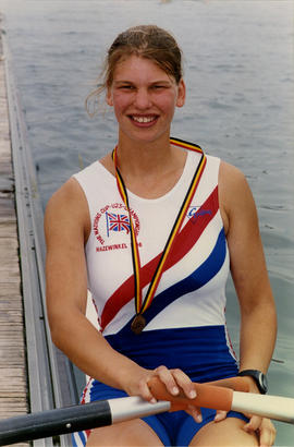 Elise Laverick at 1996 Nations Cup