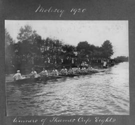 Molesey 1920 - winner of Thames Cup eights