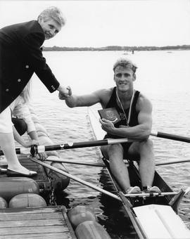 Leon Fletcher, National Champion in single sculls