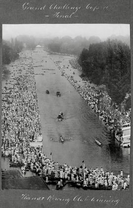 Henley 1923 - Grand Challenge Cup final, Thames winning