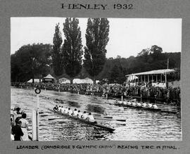 Henley 1932 Grand Leander beating TRC