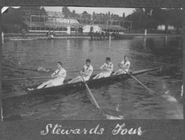Henley 1924 - Stewards' four training