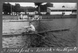 Henley 1924 - Beresford, Killick & Southgate training