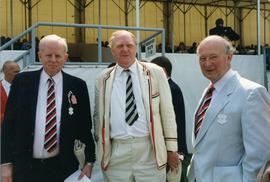 Tony Fingland, David McLellan and Bob Bray in Stewards'