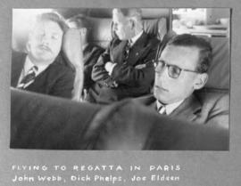 Flying to regatta in Paris