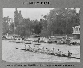 Henley 1931 Grand TRC beating Pembroke