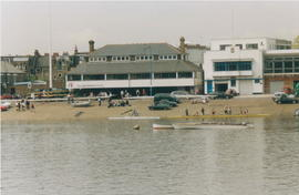 Clubhouse from the river