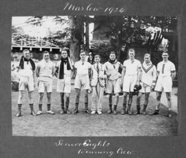 Marlow 1924 - Senior eights, winning crew