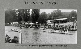 Henley 1928 Thames Cup TRC beating Peterhouse