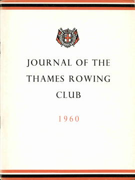 Journal of the Thames Rowing Club 1960