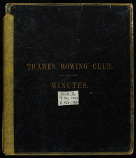 Committee Minutes 1872-1880