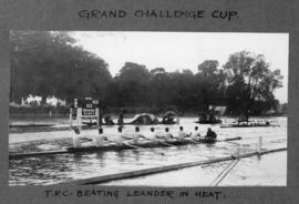 Henley 1927 - Grand Challenge Cup, TRC beating Leander in heat