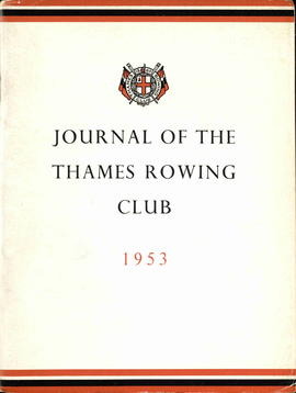 Journal of the Thames Rowing Club 1953