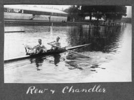 Henley 1924 - Rew and Chandler training