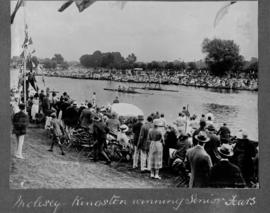 Molesey 1922 - Kingston winning senior fours