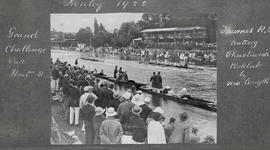 Henley 1922 - Grand Challenge Cup heat 8, TRC beat Christiania Roklub by one length