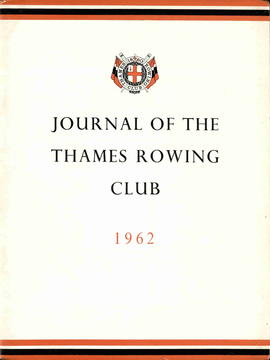 Journal of the Thames Rowing Club 1962
