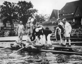 Beresford and Southwood at 1936 Berlin Olympic Games