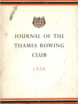Journal of the Thames Rowing Club 1950