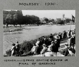 Molesey 1930 TRC pair beating Quintin