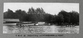 Marlow 1928 - TRC IV beating Nottingham in heat