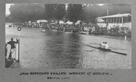 Henley 1928 - Beresford & Killick, winners of Goblets - beating LRC