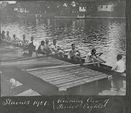 Staines 1921 - winning crew of senior eight