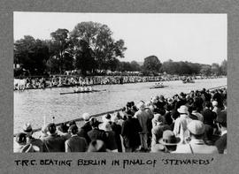 Henley 1932 Stewards TRC beating Berlin