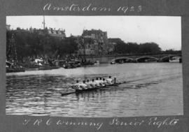 Amsterdam 1923 - TRC winning senior eights