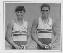 Batten and Freckleton at 1991 World Championships