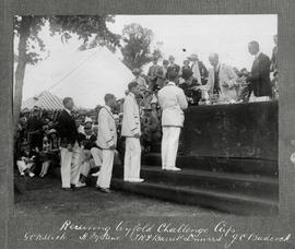 Henley 1925 - TRC receiving Wyfold Challenge Cup