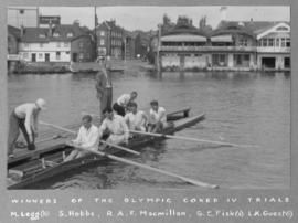 Winners of the Olympic coxed IV trials