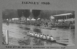 Henley 1928 Thames Cup TRC beating Kingston