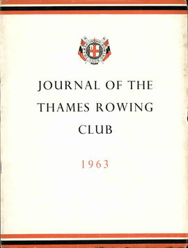 Journal of the Thames Rowing Club 1963