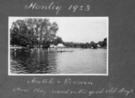 Henley 1923 - Hutch & Godwin, how they rowed in the good old days