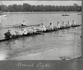 TRC Handicap Eights 1921 - second eight