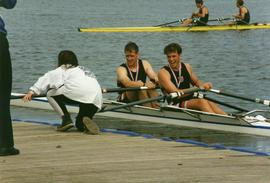 Crawford and Reddin - Bronze in Open Men's Double Sculls