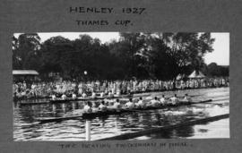 Henley 1927 - Thames Cup, TRC beating Twickenham in final