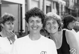 Pat Harkness, Sarah Bolton and Lesley Baguley