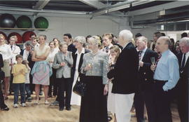 Opening of the Burrough Building