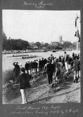 Molesey 1925 - Final Thames Cup eight, Twickenham beating TRC