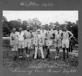 Walton 1920 - winning crew senior eights