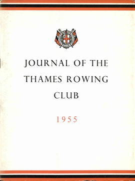 Journal of the Thames Rowing Club 1955